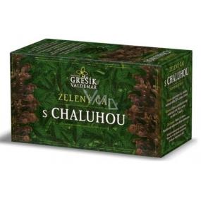 Grešík Zelený čaj s chaluhou nálevové sáčky 20x1,5 g navozuje pocit sytosti