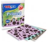 Vektex Printed houbová utěrka 16 x 18 cm 3 kusy