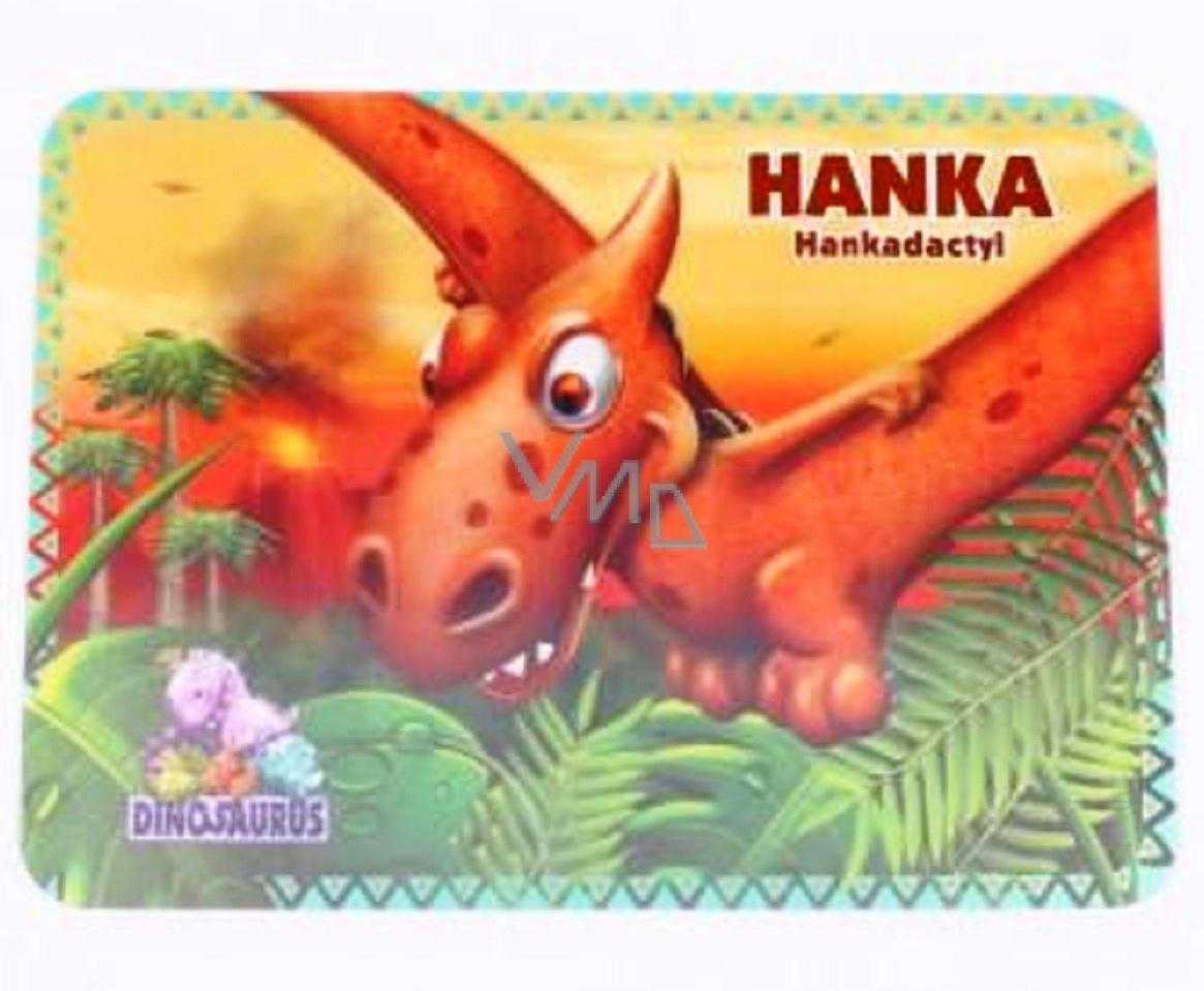Albi Dino tablecloth Hankadactyl 32 x 23 x 02 cm, 041