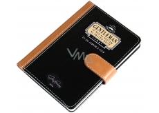 Nekupto Liga Pravých Gentlemanů Luxusní zápisník Gentleman je mužem se srdcem na pravém místě. Ty jsi jedním z nich 10,5 x 15 x 1,5 cm