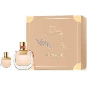Chloé Nomade parfémovaná voda pro ženy 50 ml + parfémovaná voda 5 ml, dárková sada