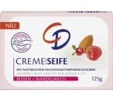 CD Mandlový olej a Malina glycerinové toaletní mýdlo 125 g