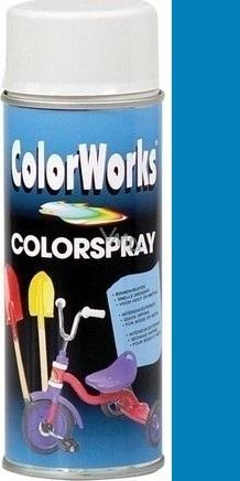 Color Works Colorspray 918509C středně modrý alkydový lak 400 ml
