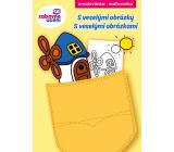 Ditipo Omalovánky do kapsy S veselými obrázky pro děti 4+ 32 stran A6 105 x 148 mm