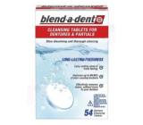 Blend-a-dent Fresh čisticí tablety na zubní náhrady 54 kusů