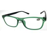 Berkeley Čtecí dioptrické brýle +1,0 plast zelené, černé postranice 1 kus MC2184