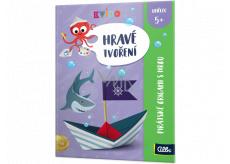 Albi Kvído Hravé tvoření Pirátské origami s hrou doporučený věk 5+