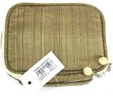 Diva & Nice Chinese Style Kosmetická kabelka zlatá 13 x 10,5 x 3 cm