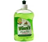 Winnis Piatti Lime na ruční mytí nádobí Ekologický koncentrovaný hypoalergenní mycí prostředek 500 ml