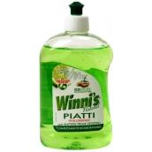 Winnis Piatti Lime Ekologický koncentrovaný hypoalergenní mycí prostředek na nádobí 500 ml
