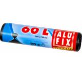 Alufix Economy Sáčky do odpadkového koše černé, 13 µ, 60 litrů, 60 x 71 cm, 20 kusů