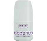 Ziaja Elegance Creamy kuličkový antiperspirant deodorant krémový roll-on pro ženy 60 ml