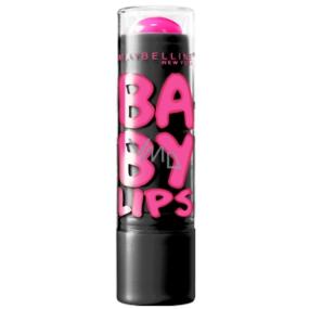 Maybelline Lips Electro Pink Shock balzám na rty s jemným zbarvením 4,4 g