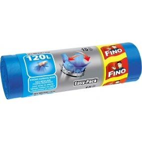 Fino Easy Pack pytle na odpadky modré 70 x 101,5 cm 120 l 15 kusů