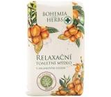 Bohemia Gifts Arganový olej s glycerinem relaxační jemné toaletní mýdlo 100 g