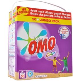 Omo Color prášek na praní, barevné prádlo 50 dávek 3,5 kg
