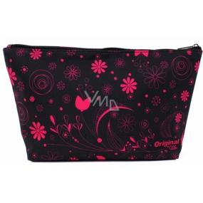 Albi Original Cestovní kosmetická taška Růžové květy 33 x 19 x 8 cm