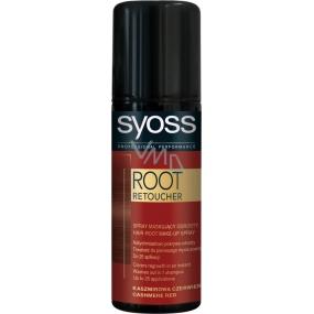 Syoss Root Retoucher sprej na odrosty kašmírově červený 120 ml