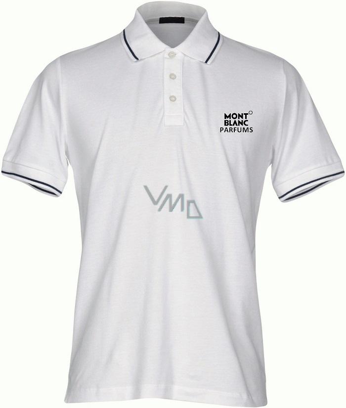 800e03f16e76 Montblanc Polo Shirt pánské polo tričko bílé velikost L 2017 - VMD ...
