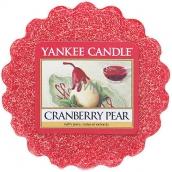 Yankee Candle Cranberry Pear - Brusinka a hruška vonný vosk do aromalampy 22 g