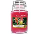 Yankee Candle Tropical Jungle - Tropická džungle vonná svíčka Classic velká sklo 623 g
