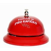 Albi Zvonek recepční s textem Kafíčko