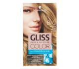 Schwarzkopf Gliss Color barva na vlasy 8-0 Přirozená blond 2 x 60 ml