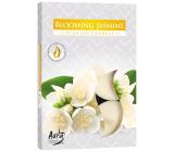 Bispol Aura Blooming Jasmine - Kvetoucí jasmín vonné čajové svíčky 6 kusů