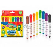 Colorino Fixy Smile, s kulatou špičkou 8 barev pro děti