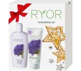 Ryor Levandulový tělové mléko 300 ml + Levandulový sprchový gel 200 ml, kosmetická sada