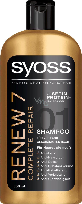 26f7941f11 Syoss Renew 7 Complete Repair šampon pro poškozené vlasy 500 ml ...