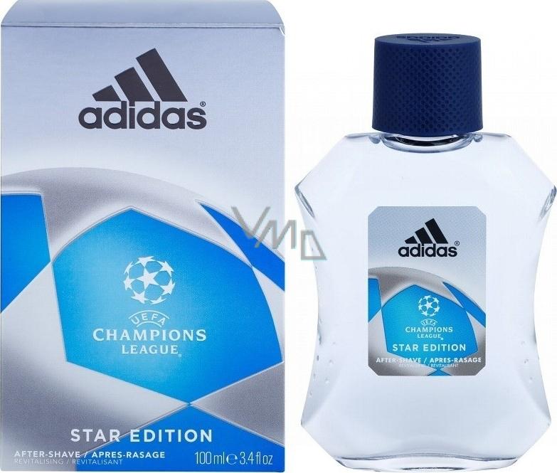 Felicidades pájaro analogía  Adidas UEFA Champions League Star Edition AS 100 ml mens aftershave - VMD  parfumerie - drogerie