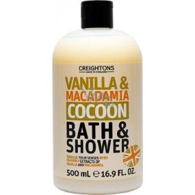 Creightons Vanilka & Makadamie sprchový gel a pěna 500 ml
