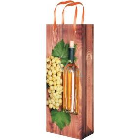 Taška Celoroční na lahev F hnědá s vínem 36 x 12 x 9 cm 02
