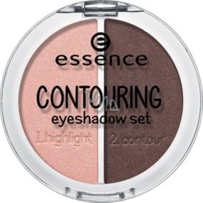 Essence Contouring Eyeshadow Set sada očních stínů 03 Roses Meet Mahagony 5 g