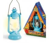 If The Base Camp Reading Lamp Táborová lucernička Modrá 44 x 40 x 117 mm