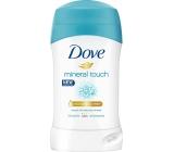 Dove Mineral Touch antiperspirant deodorant stick pro ženy 40 ml