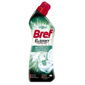Bref 6 x Effect Hygiene Gel Micro-Brush Action Wc gel 750 ml