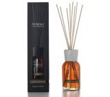 Millefiori Milano Natural Vanilla & Wood - Vanilka a dřevo Difuzér 500 ml + 12 stébel v délce 35 cm do velkých prostor vydrží 6-7 měsíců