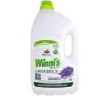 Winnis Lavatrice Lavanda Ecoformat Eko prací gel na všechny typy vláken jemných a barevných oděvů, s mýdlem rostlinného původu s vůní levandule 100 dávek 5l