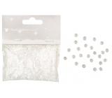 Kamínky dekorační čiré 3 mm 20 g