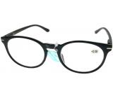 Berkeley Čtecí dioptrické brýle +1,0 plast černé, kulaté skla 1 kus MC2171