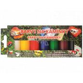 Kreativ Colour Barvy na kamínky akrylové základní sada 7 barev x 15 g