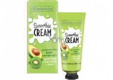 Bielenda Smoothie Cream Avokádo + Kiwi + Probiotika normalizující krém na obličej a dekolt 50 ml