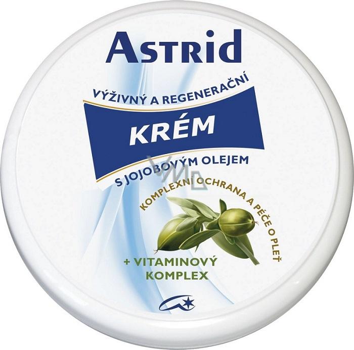 Astrid Výživný a regenerační krém s jojobovým olejem 75 ml