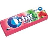 Wrigleys Orbit Meloun žvýkačky bez cukru ovocné dražé 10 kusů 14 g