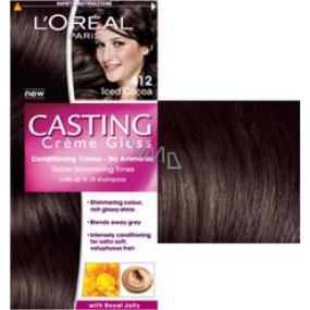 Loreal Paris Casting Creme Gloss barva na vlasy 412 ledové kakao Iced chocolates