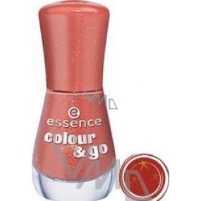 Essence Colour & Go lak na nehty 116 Gorgeous Bling Bling 8 ml