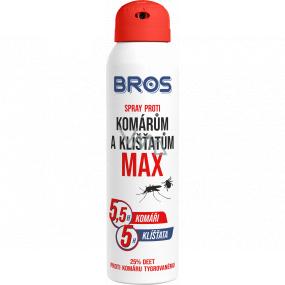 Bros Max Repelent proti komárům a klíšťatům sprej 90 ml