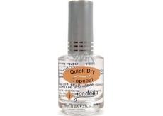 Jordana Lak na nehty rychle sušící Quick Dry Topcoat 406 15 ml